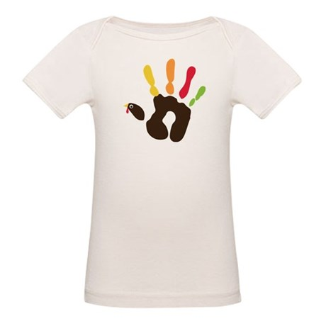 Turkey Hand Organic Baby T-Shirt