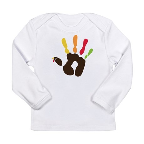 Turkey Hand Long Sleeve Infant T-Shirt