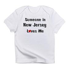 New Jersey Loves Me Infant T-Shirt