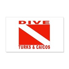 Dive Turks & Caicos 20x12 Wall Peel