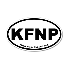 Kenai Fjords National Park 35x21 Oval Wall Peel