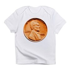 1955 Double Die Lincoln Cent Infant T-Shirt