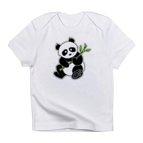 Sitting Panda Bear Infant T-Shirt