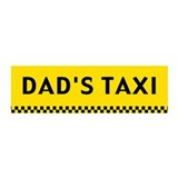 Dad's Taxi 20x6 Wall Peel