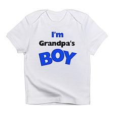 I'm Grandpa's Boy Creeper Infant T-Shirt