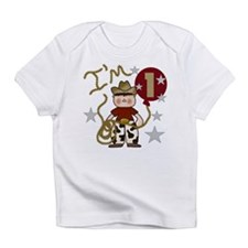 Cowboy First Birthday Creeper Infant T-Shirt