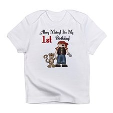 Pirate Party 1st Birthday Creeper Infant T-Shirt