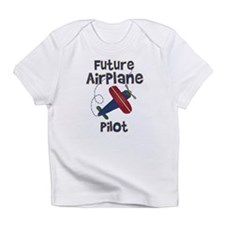 Future Airplane Pilot Creeper Infant T-Shirt