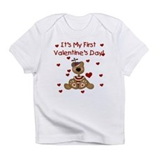 First Valentine's Boy Bear Creeper Infant T-Shirt