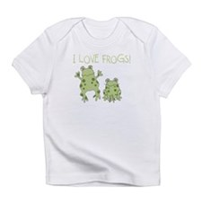 I Love Frogs Infant T-Shirt