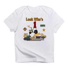 Construction 1st Birthday Creeper Infant T-Shirt