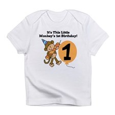Little Monkey 1st Birthday Infant T-Shirt