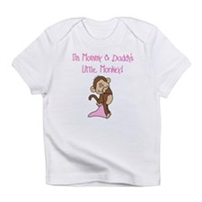 Mommy, Daddy Monkey(pink) Infant T-Shirt