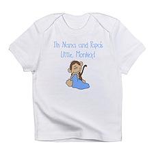 Nana, Papa's Monkey (blue) Infant T-Shirt
