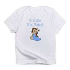 Daddy's Monkey(blue) Infant T-Shirt