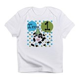 Cow 1st Birthday Infant T-Shirt