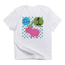 Pig 1st Birthday Infant T-Shirt