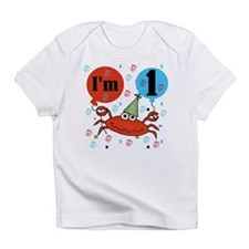 Crab 1st Birthday Infant T-Shirt