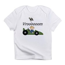 Green Racing Car Infant T-Shirt