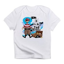 Pirate's Life 2nd Birthday Infant T-Shirt