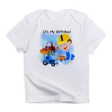 Construction 1st Birthday Infant T-Shirt