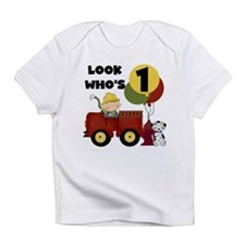 Fireman 1st Birthday Infant T-Shirt