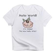 Abigail Baby Sister Infant T-Shirt
