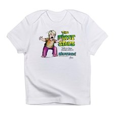 First Steps Creeper Infant T-Shirt