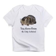 Trap-Neuter-Return Creeper Infant T-Shirt