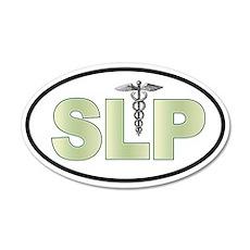 SLP Neutrals 20x12 Oval Wall Peel