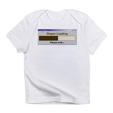 Diaper Loading Infant T-Shirt