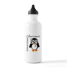 Penguin Parkinsons Disease Water Bottle