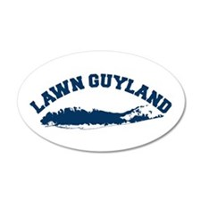 LAWN GUYLAND 20x12 Oval Wall Peel