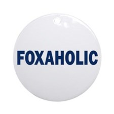 Fox aholic v2 Ornament (Round)
