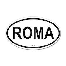 Roma 35x21 Oval Wall Peel