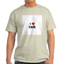 I * Cash Ash Grey T-Shirt