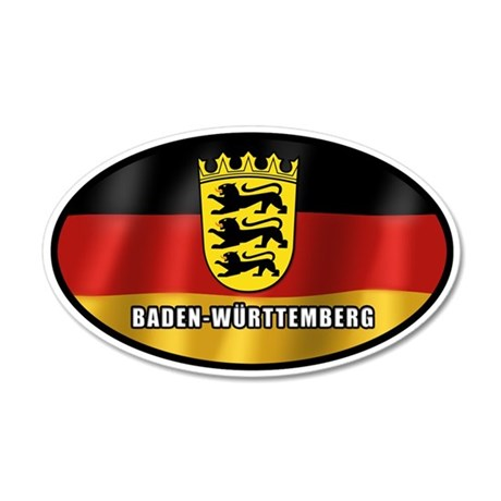 Baden-Wuerttemberg coat of arms (white letters)