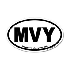 Martha's Vineyard MVY Euro 20x12 Oval Wall Peel