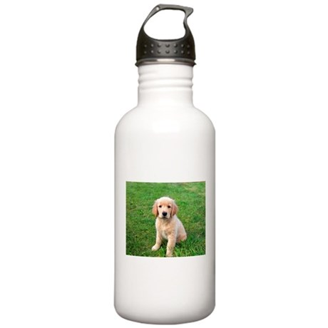 Puppy in the Grass Stainless Water Bottle 1.0L