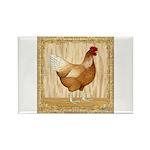 Golden Hen Rectangle Magnet (10 pack)