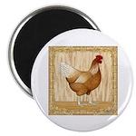 Golden Hen Magnet