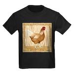 Golden Hen Kids Dark T-Shirt