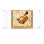 Golden Hen Banner