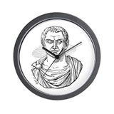 Marc Antony Bust Wall Clock