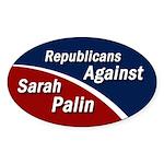 Republicans Against Sarah Palin sticker