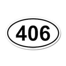 406 20x12 Oval Wall Peel