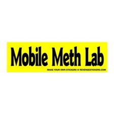 Mobile Meth Lab - Revenge Sticker