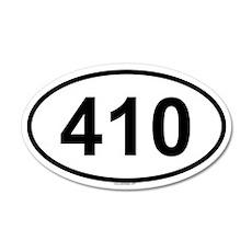 410 35x21 Oval Wall Peel