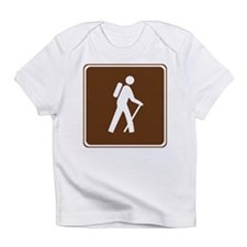 Hiking Trail Sign Infant T-Shirt