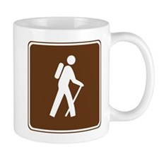Hiking Trail Sign Mug